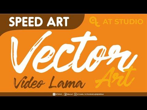 Line Art Wajah : Tutorial vector art finishing line wajah youtube