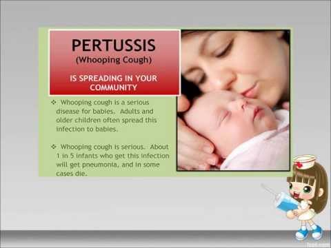 Understanding whooping cough and how it occurs