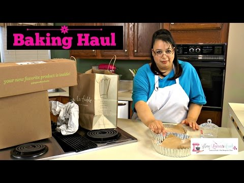 Baking Haul | Michaels, Sur La Table, Pampered Chef, and Amazon