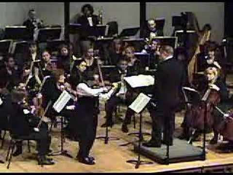 Leonid Sushansky plays Kabalevsky Violin Concerto -- 3rd
