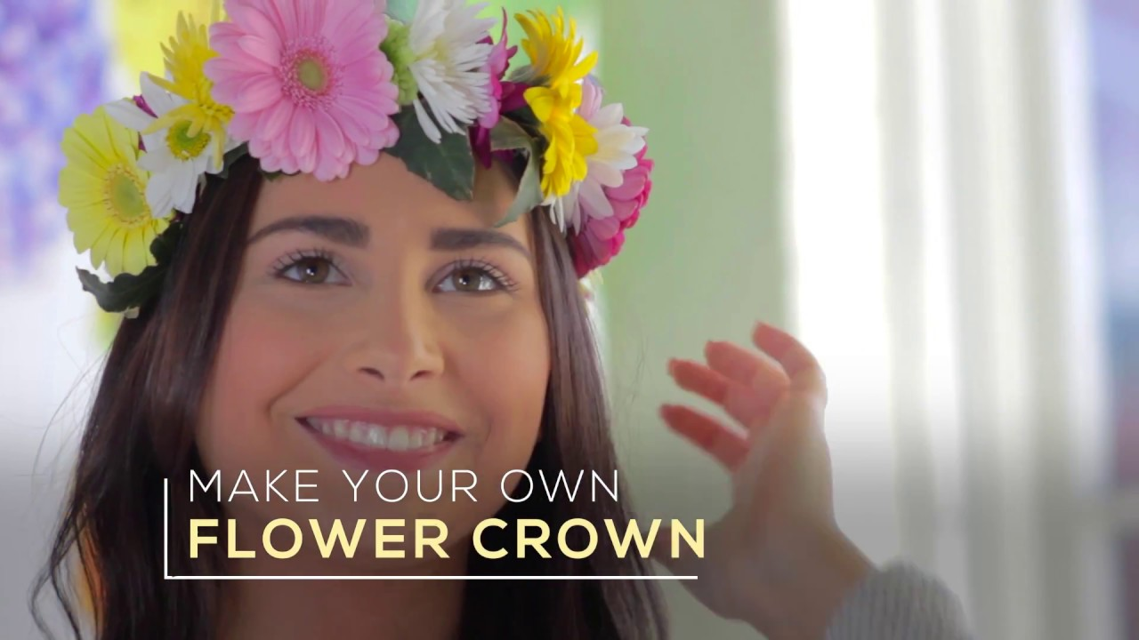 How to make a flower crown out of fresh flowers with pickontario how to make a flower crown out of fresh flowers with pickontario izmirmasajfo
