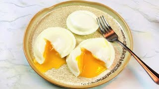 How to Poach Eggs Perfectly   Poaching Eggs For Beginners  NO FAIL POACHED EGGS  Steaming Method