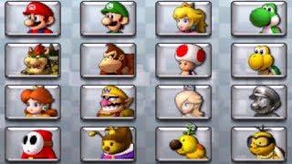 Mario Kart 7 - All Characters