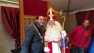 Sinterklaasdorp op de Vischmarkt in Harderwijk