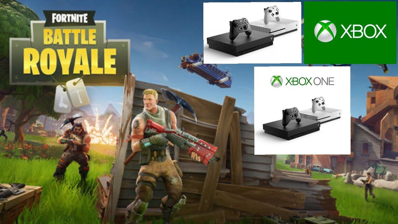 How To Play FORTNITE On An Xbox One, Xbox One S OR Xbox ...