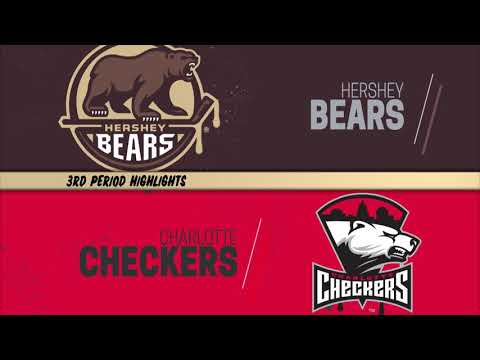 Hershey Bears 1, Charlotte Checkers 3 - May 7, 2019