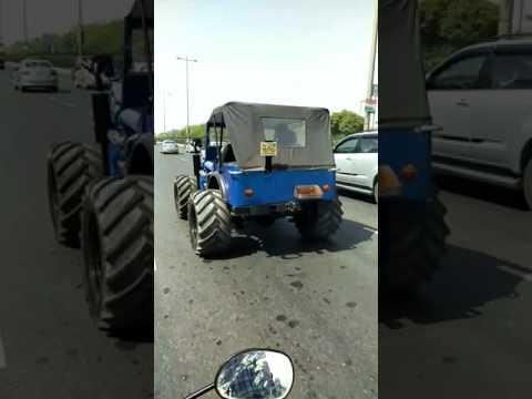 India branding jeep
