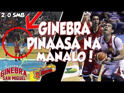 Barangay GINEBRA vs SAN MIGUEL Beermen | Game Highlights | March 11, 2018