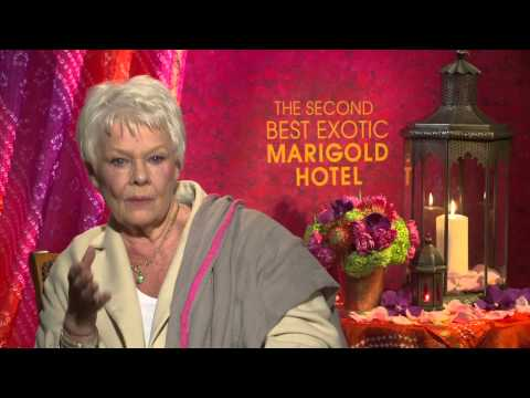 The Second Best Exotic Marigold Hotel: Judi Dench