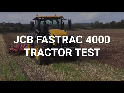 JCB Fastrac 4000 tractor test