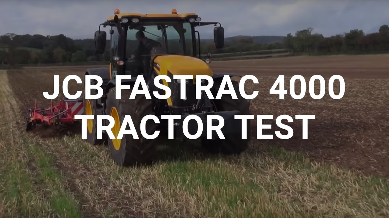 Jcb Fastrac 4000 Tractor Test Youtube