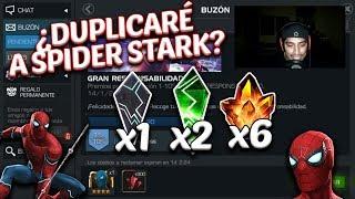 ¿Podré Duplicar a Spider-man Mejora de Stark? | 6 Cristales de 4 Estrellas - MCOC