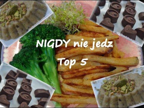 Top 5  Zakazanych Produktów - NIGDY Ich Nie Jedz Jeśli Chcesz Być Zdrowy I Szczupły!