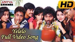 Adhee Lekka Movie    Yelelo Full Video Song    Manoj Nandam,Mahee