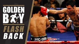 Golden Boy Flashback: Oscar De La Hoya vs. Manny Pacquiao (FULL FIGHT)
