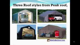 Portable Carport Shelter Garage
