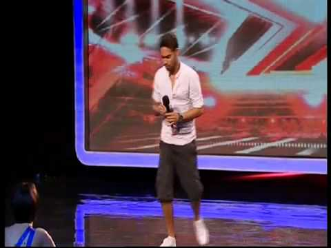 Danyl Johnson - X Factor - GREATEST AUDITION EVER - YouTube