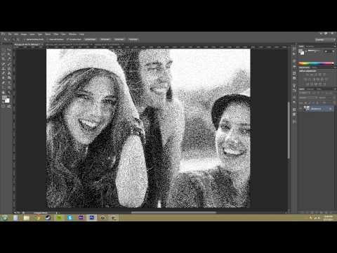 Photoshop CS6 Tutorial - 92 - Bitmap Color Mode