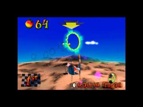 Rings of Power - Platinum Relic - Crash Bandicoot 3 Warped - 105% Playthrough (Part #62)