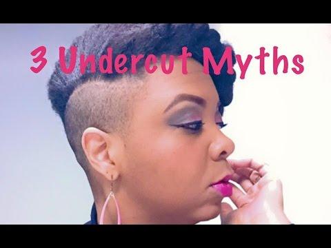 3 Undercut Myths Natural Hair Youtube