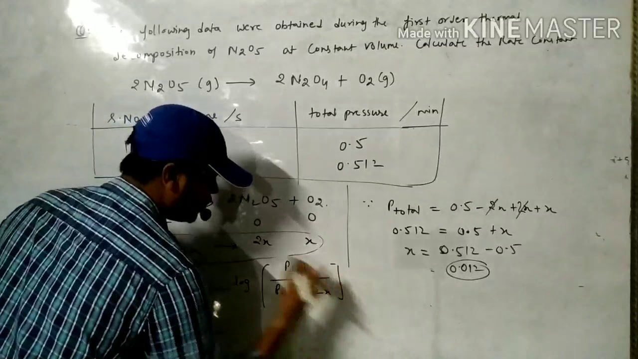 Chemical kinetics-class 12th- part 5 ( topic-numericals of ...
