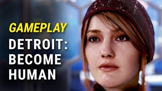 DETROIT: BECOME HUMAN PS4 Walkthrough Part 2 | Gameplay with Claire & Raine