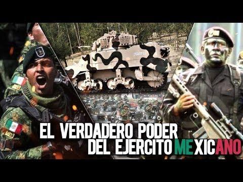 El verdadero poder de las Fuerzas Armadas de México 2019....