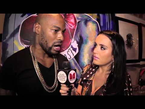 Boss Lady Interviews Tyson Beckford For Art Basel 2014 - YouTube