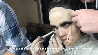Download Video LUNA MAYA AS SUZZANNA AND REMOVAL PROSTHETIC MAKEUP MP3 3GP MP4