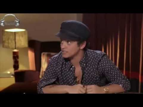 Bruno Mars - Funny interview day in the UK