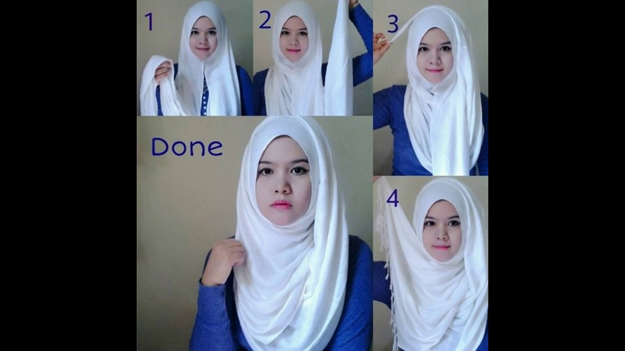 Hijab Styles for teenagers Step by step ideas; Hijab tutorials for  different styles