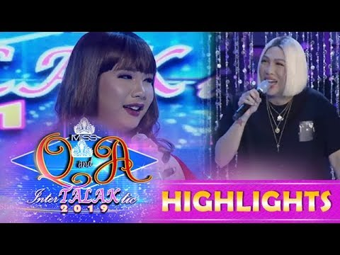 It's Showtime Miss Q & A: Vice Ganda Notices Nadine's Resemblance To Paloma