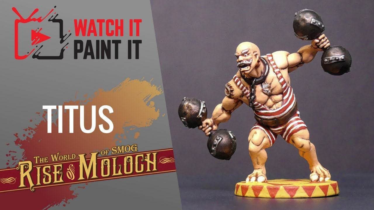 The World Of Smog Rise Of Moloch Painting Titus Youtube