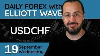 USDCHF - Forex Trade Setups (19 September 2018)