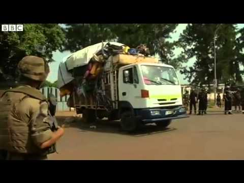 Muslims flee CAR capital Bangui for Chad