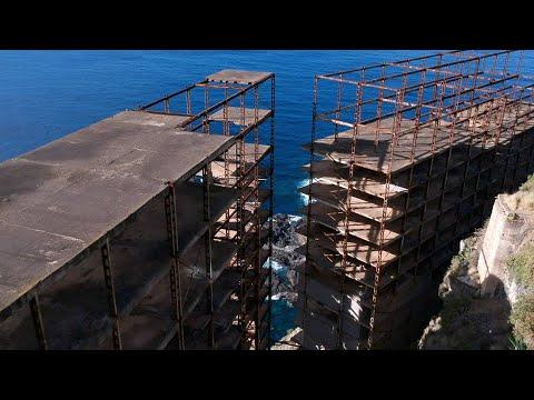 Drone Footage of El Esqueleto - The Abandoned Skeleton Building - URBEX Tenerife