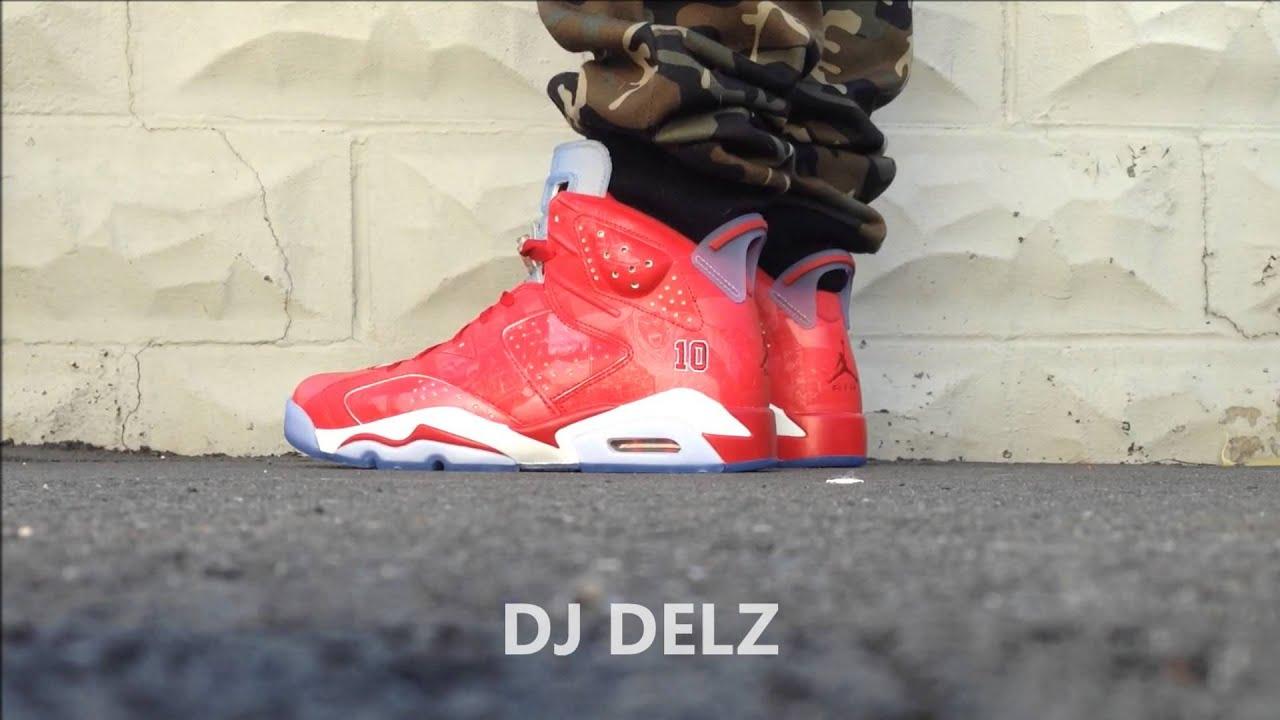 d6e872d58d14 Air Jordan Slam Dunk 6 VI Sneaker On Feet With 3M Activated With  DjDelz Dj  Delz
