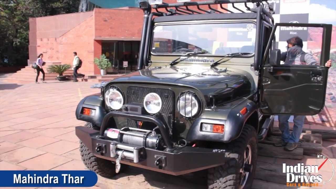2012 Mahindra Thar A C First Look Video Youtube