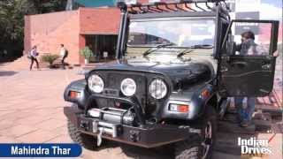 2012 Mahindra Thar (A/C) First Look Video