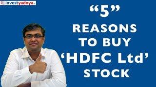5 Reasons to Buy HDFC Ltd Stock | HDFC Ltd - 5 Point Stock Analysis