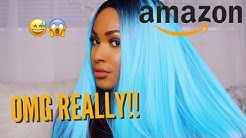 TESTING NEW COLORFUL AMAZON WIGS *CHEAP and ON FLEEK*