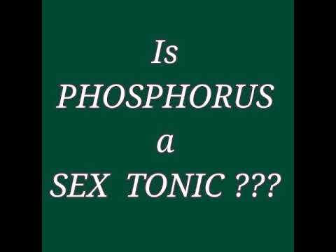 Phosphorous sex