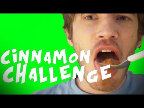 CINNAMON CHALLENGE FAIL - Fridays With PewDiePie (Episode 21)