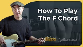 The Easiest F Ch๐rd Guitar Lesson You'll Find :)