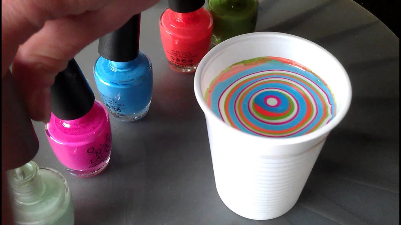 Nagels Marmeren Water Marble Nailstyling Youtube