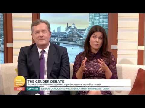 Non Binary Trans Debate: Piers Morgan vs. Fox & Owl