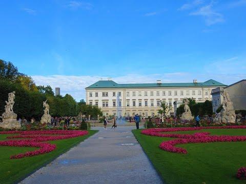 Salzburg, Austria - Mirabell Palace and Gardens