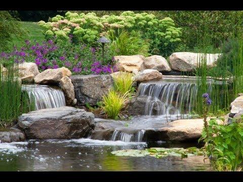 Альпийская горка с водопадом своими руками 🌊 Часть 1