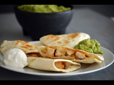 Basic Chicken Quesadilla Recipe