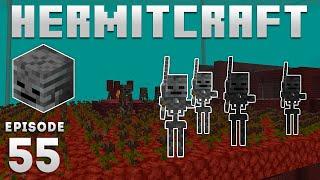 Hermitcraft 7 - Ep. 55: WITHER SKELETON FARM! (Minecraft 1.16) | iJevin